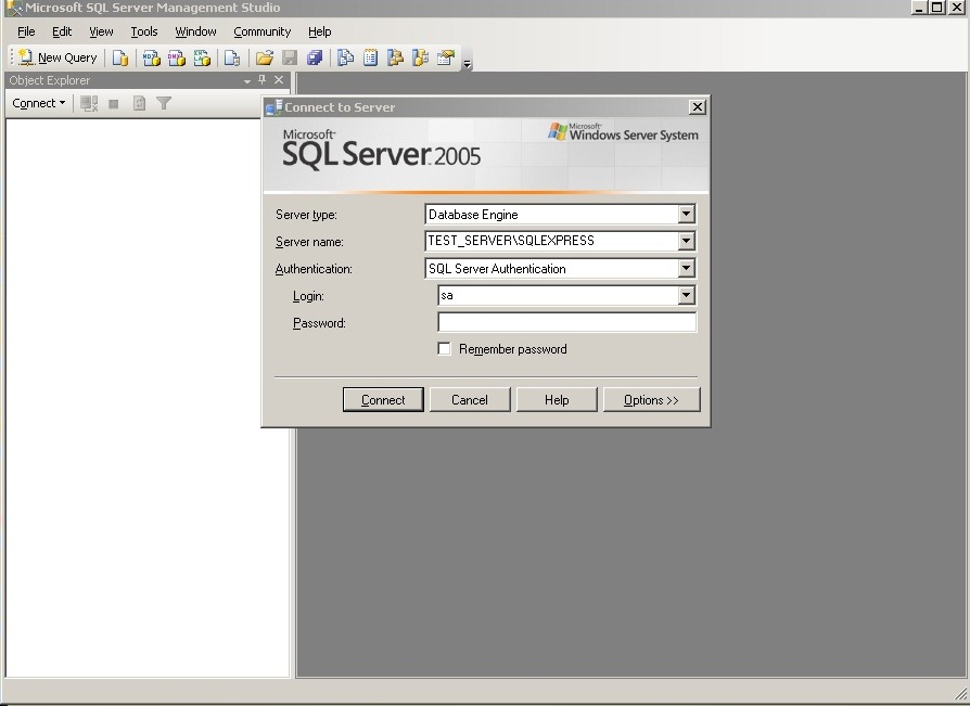Scheduling Backups for SQL Server 2005 Express Edition – lakkireddymadhu