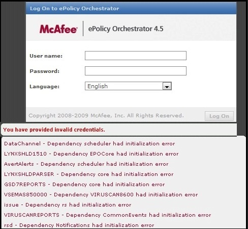mcafee dat  ftp software