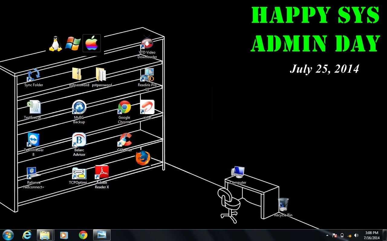 Day of the system administrator