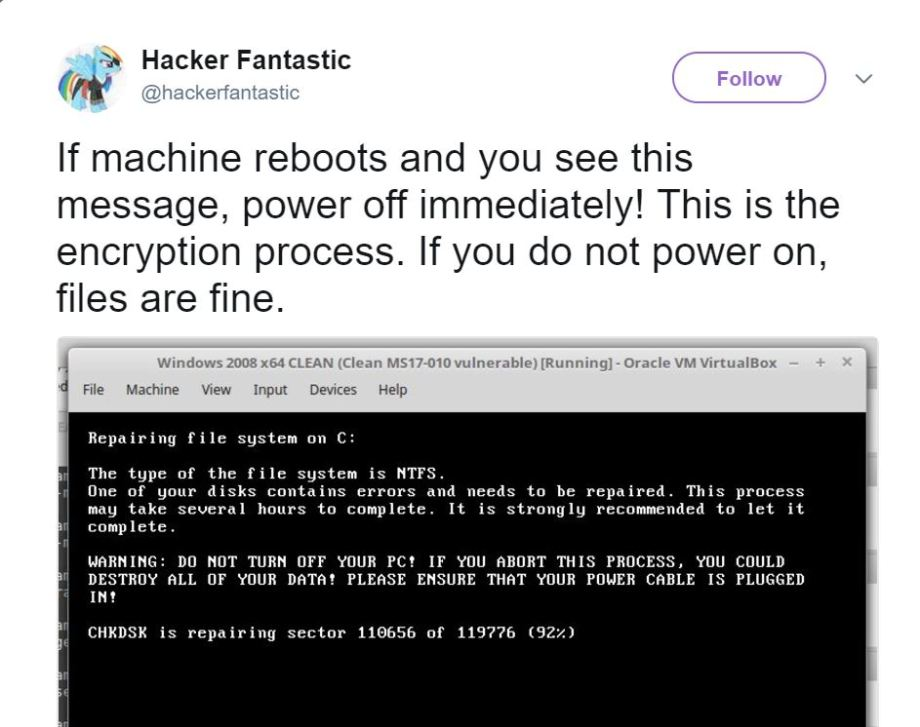 Petya kill switch